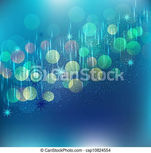 Antecedentes festivos azules - csp10824554