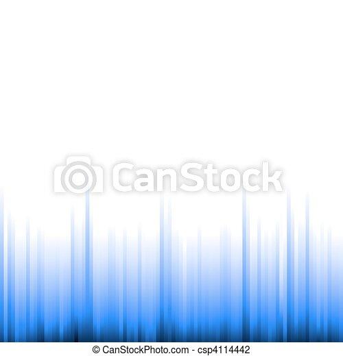 azul, gradiente, fundo - csp4114442