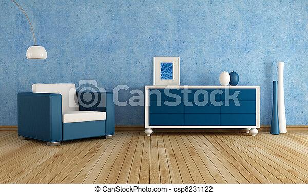 Salón azul - csp8231122