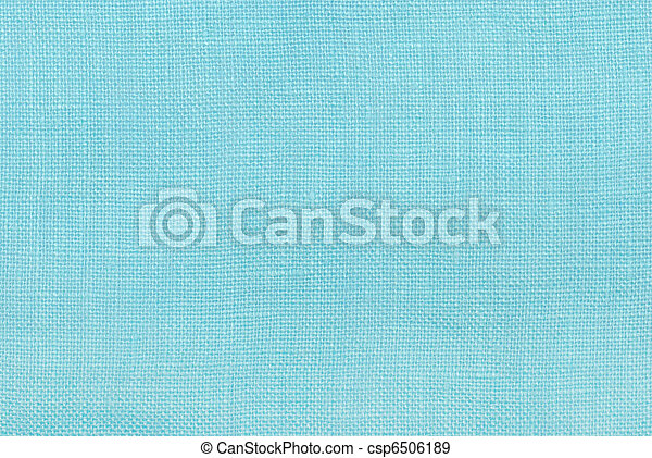 Un fondo de textura de lino azul - csp6506189