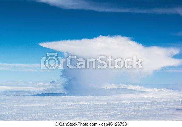 Cielo azul con nubes - csp46126738