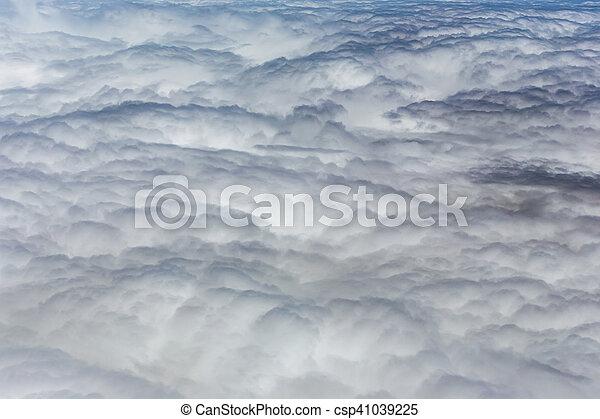 Cielo azul con nubes - csp41039225