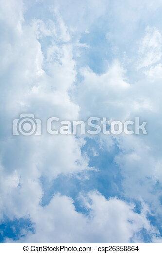 Cielo azul con nubes - csp26358864