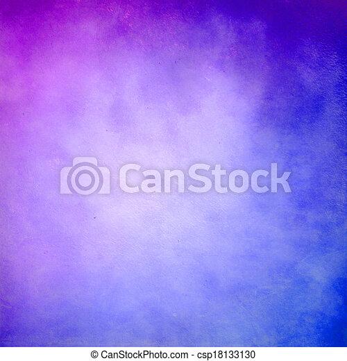 Púrpura y azul fondo abstracto - csp18133130