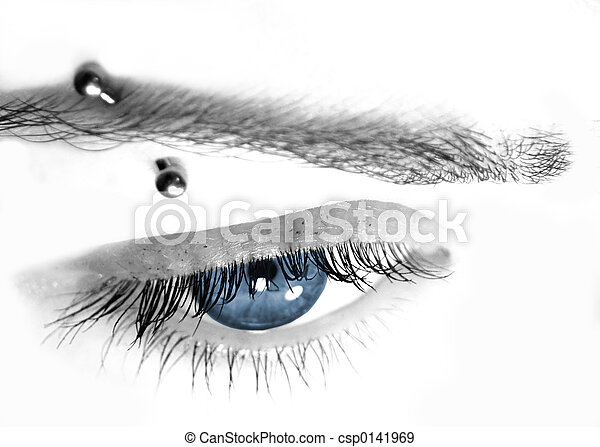 Pierce de ojos azules - csp0141969