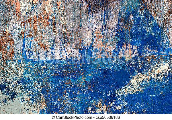 azul, pintado, padrão, artificial, pranchas, madeira, fundo, ou, textura - csp56536186