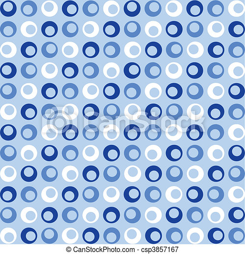 azul, puntos, retro - csp3857167