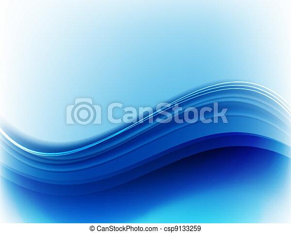 Trasfondo abstracto azul - csp9133259