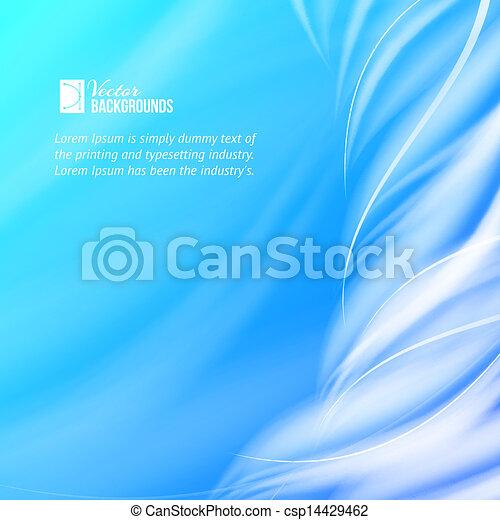 Tornado azul abstracto. - csp14429462