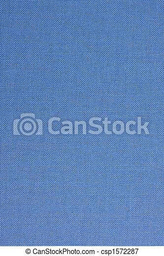 Cubierta de libros textiles azules - csp1572287