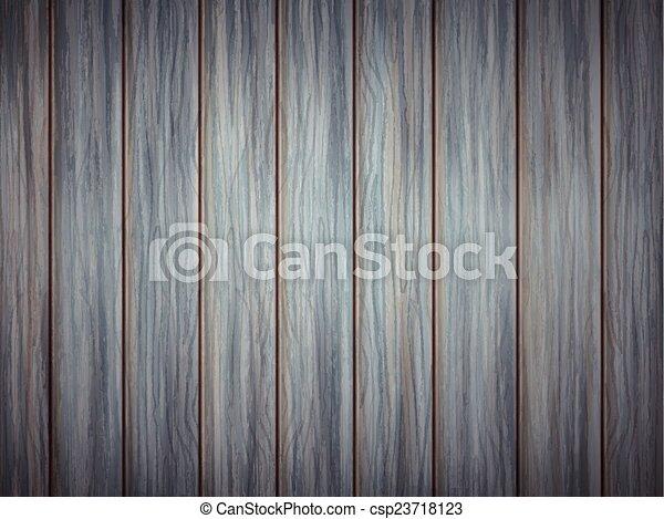 azul, textura madeira, prancha, fundo - csp23718123
