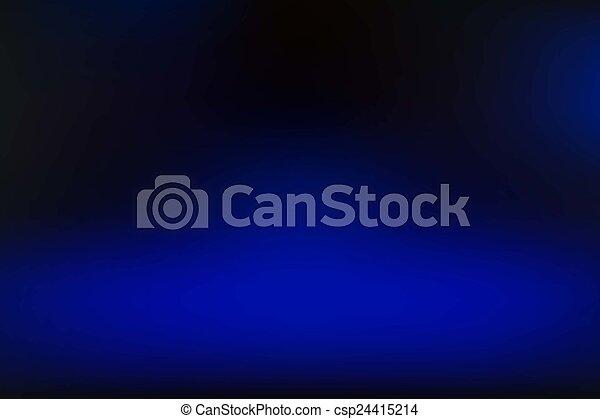 azul, vetorial, fundo, obscurecido - csp24415214