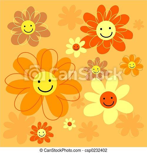Flores felices - csp0232402