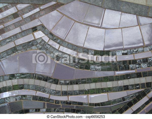 azulejo, padrão, abstratos - csp6656253