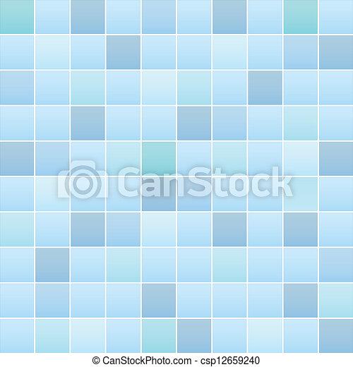 azulejo, padrão, banheiro - csp12659240