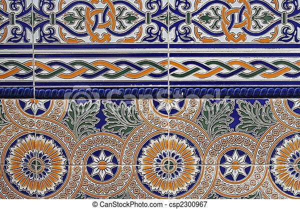 El azulejo español - csp2300967