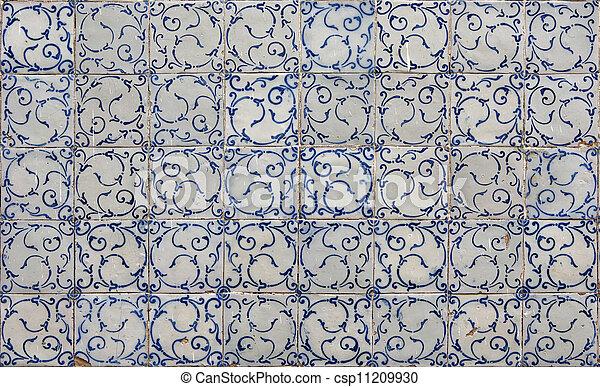 Azulejos de Lisboa - csp11209930