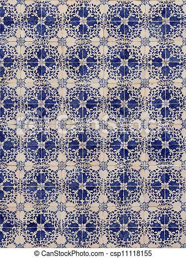 Azulejos de Lisboa - csp11118155