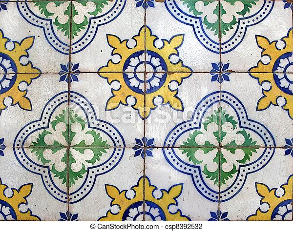 Azulejos de Lisboa - csp8392532