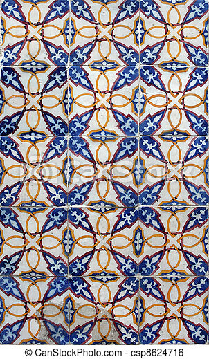 Azulejos de Lisboa - csp8624716