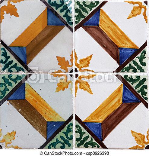 Azulejos de Lisboa - csp8926398