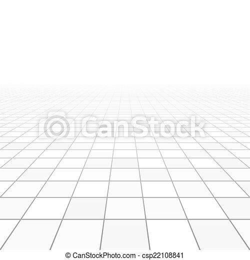 La perspectiva de las baldosas - csp22108841