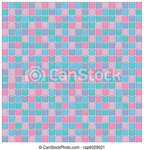 azulejos rosa prpura vidrio color azul verde ilustracin de archivo - Azulejos Rosa