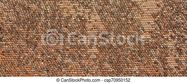 Viejas baldosas de arcilla - csp70950152