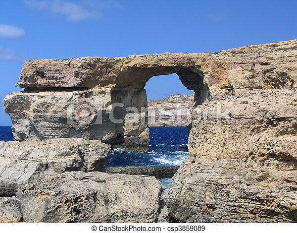 Azure Window, Gozo, Malta - csp3859089