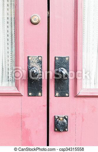 bán, ajtó - csp34315558