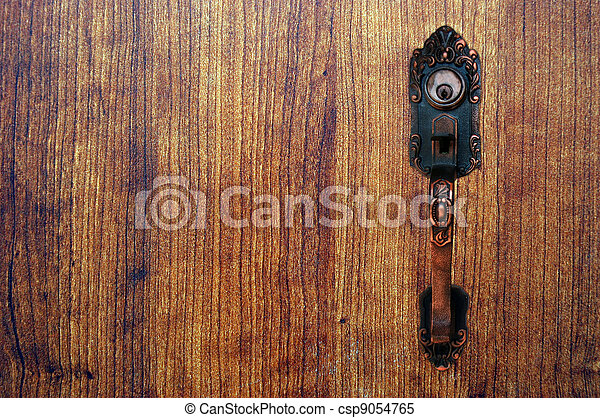 bán, ajtó - csp9054765