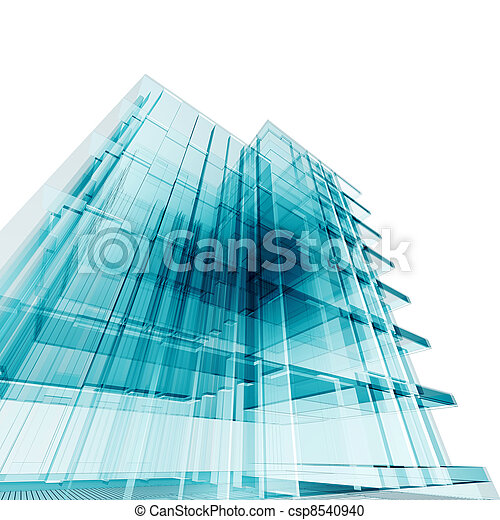 bâtiment, bureau - csp8540940