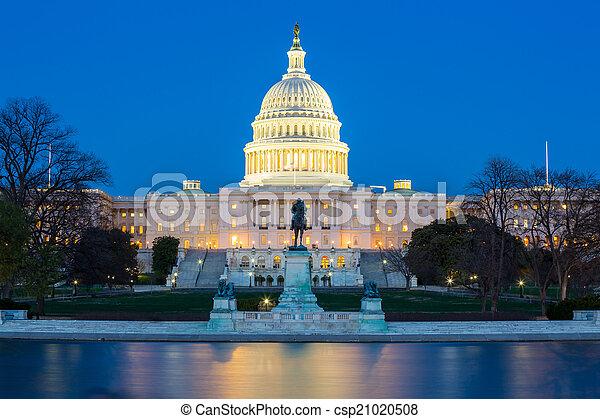 bâtiment, capitole, nous - csp21020508