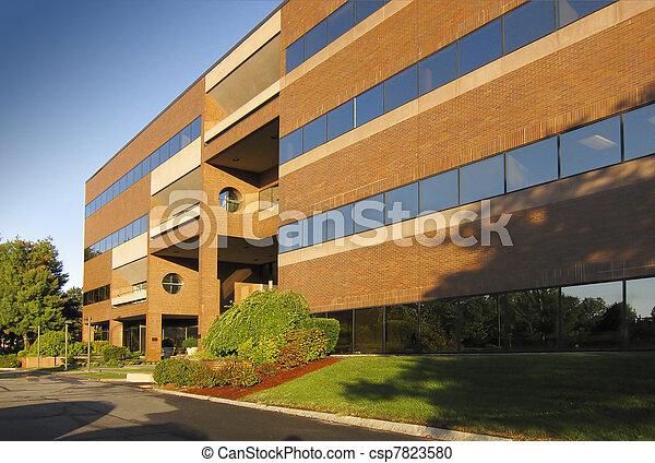 bâtiment, commercial, bureau - csp7823580