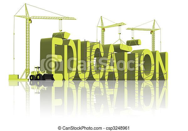 bâtiment, education - csp3248961