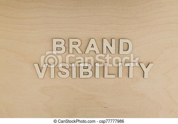 bâtiment, marque, visibilité, monotone, message, réussi, business, bureau, concept, édition - csp77777986