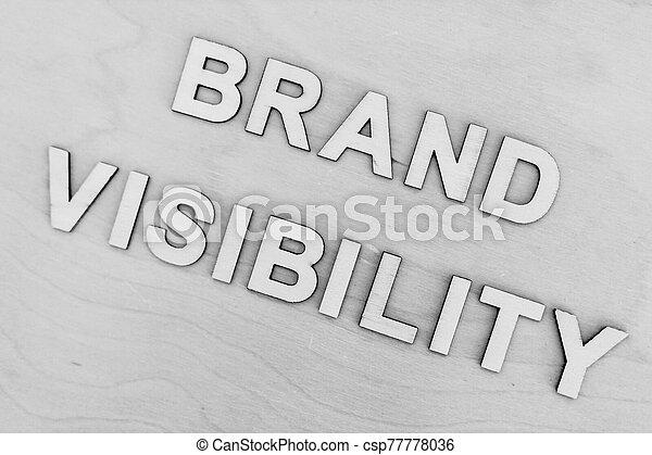 bâtiment, marque, visibilité, monotone, message, réussi, business, bureau, concept, édition - csp77778036