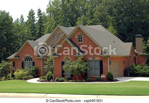 bâtiment, nouvelle maison - csp0401831