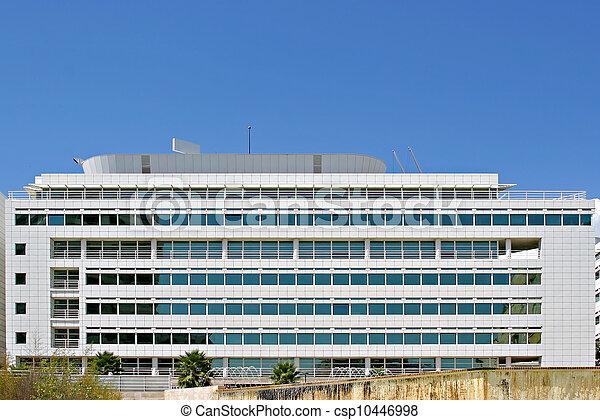 bâtiment, vitreux, bureau - csp10446998