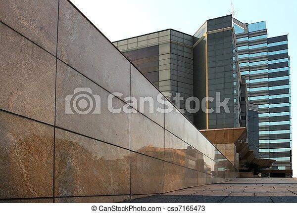 bâtiments, bureau - csp7165473