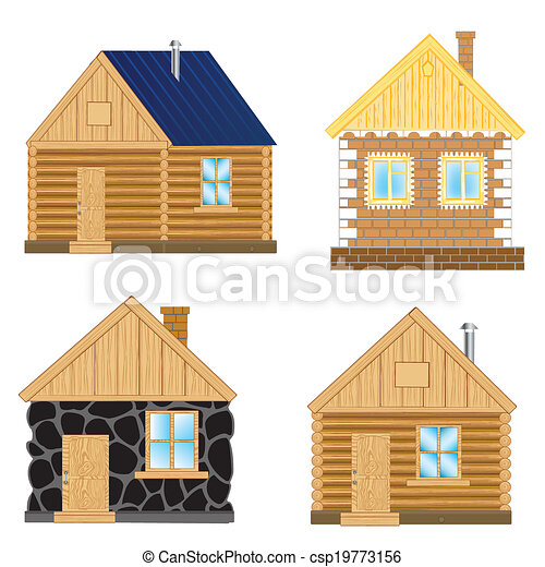 bâtiments, fond blanc - csp19773156