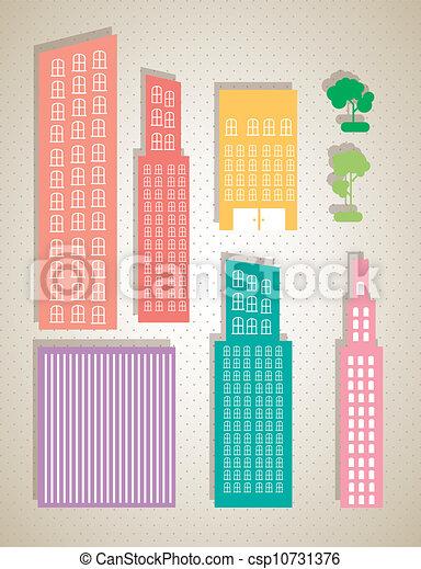 bâtiments - csp10731376