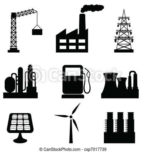 bâtiments, industriel - csp7017739
