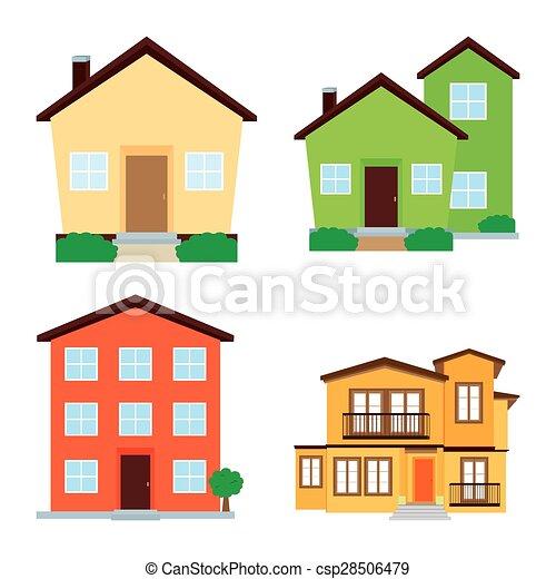 bâtiments, isolé - csp28506479