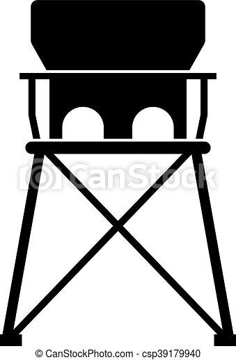 b b lev voyage chaise portable image portable vecteur eps rechercher des clip art. Black Bedroom Furniture Sets. Home Design Ideas