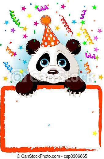 Bébé Anniversaire Panda