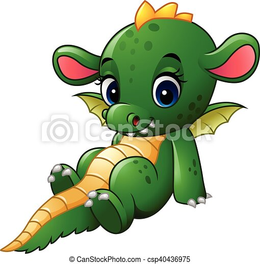 B b dragon dessin anim s ance s ance illustration dragon vecteur b b dessin anim - Dessin de bebe dragon ...