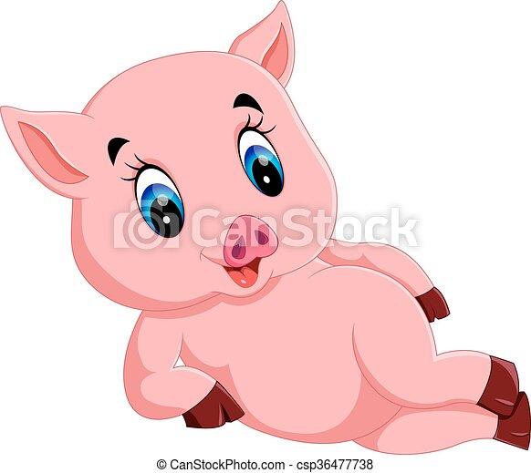 B b mignon dessin anim cochon b b mignon dessin - Dessin cochon mignon ...