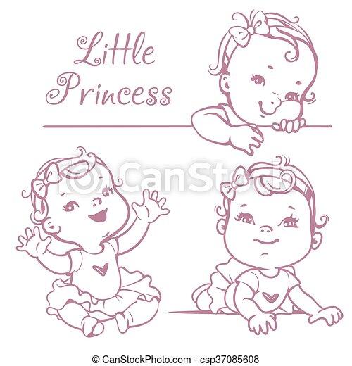 Bébé Petite Fille Set