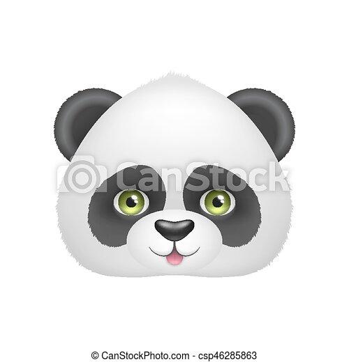 Bébé Smile Panda Figure
